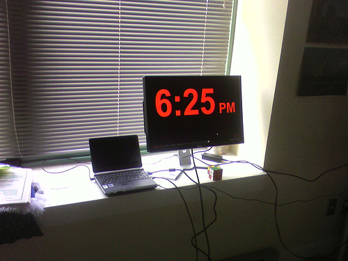 Now that's an alarm clock