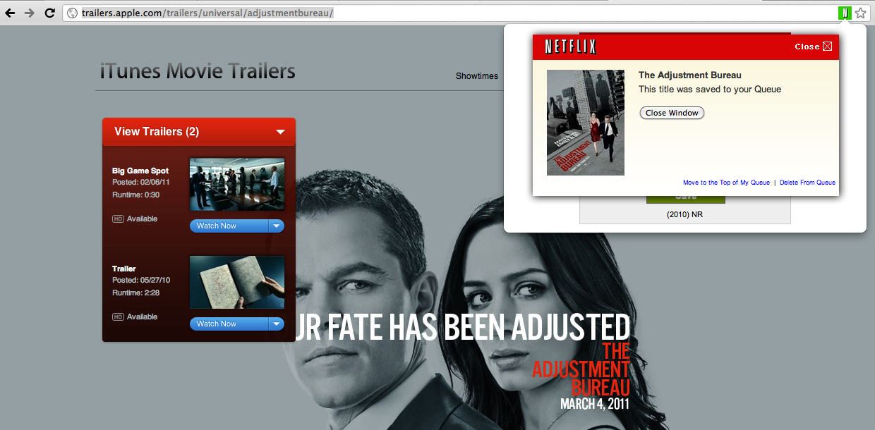 Raging Netflix Queue, a Google Chrome Extension—zachleat com